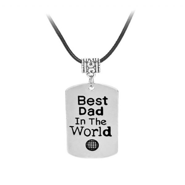 Best Dad in the World Necklace